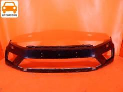 Бампер передний Volkswagen Touareg FL 2014-2018, оригинал