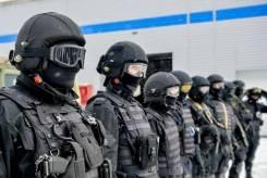 Полицейский-боец. Росгвардия. Улица Днепровская 19