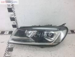 Фара передняя левая Volkswagen Touareg 2 Restail ксенон ДХО