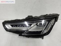 Фара передняя левая Audi A4 B9 LED