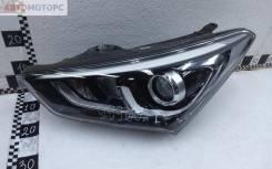 Фара передняя левая Hyundai Santa Fe 3 Restail ксенон адаптив