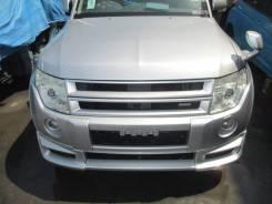 Бампер Mitsubishi Pajero, V83W, V87W, V93W, V97W, V98W Серый A19