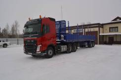 Volvo FH13. Продам седельный тягач Volvo FH c новым полуприцепом сортиментовозом, 13 000куб. см., 34 000кг., 6x4