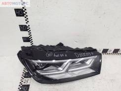 Фара передняя правая Audi Q5 2 LED, 2017-