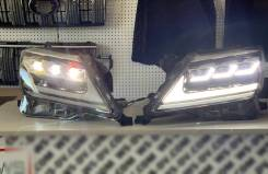 Фары LED в стиле 2020 года для Lexus LX570 2012-2015г