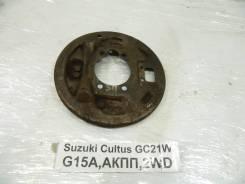 Щиток тормозного механизма Suzuki Cultus Suzuki Cultus 1997, правый задний