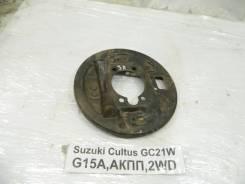 Щиток тормозного механизма Suzuki Cultus Suzuki Cultus 1997, левый задний