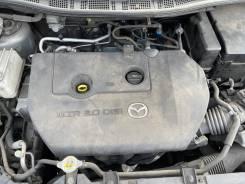 Двигатель в сборе Mazda Premacy Cwefw 117000km (видео работы)