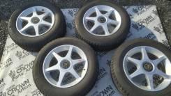Диски литые R16 с резиной Bridgestone 215/60
