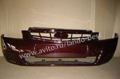 Бампер передний приора портвейн 192