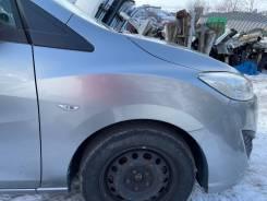 Крыло переднее правое серебро (38P) Mazda Premacy Cwefw 117000km