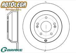 Диск тормозной задний G-brake KIA Sorento 09- / Hyundai Santa FE 09- GR-01911