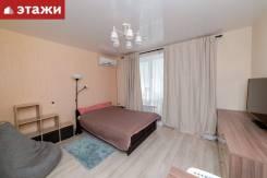 1-комнатная, улица Майора Филипова 7. Снеговая падь, агентство, 25,4кв.м. Интерьер