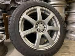 Work Emotion XT7 R17 5*100 7 + 215/55R17 Dunlop Enasave RV504 Japan