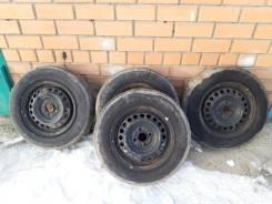 Продам комплект колес 4x100 с летней японской резиной 185/70 R14