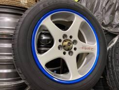 Work Ewing RSZ Negative R15 4*100 7j et43 + 195/65R15 Dunlop Enasave