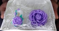 Набор мыла ручной работы к 8 марта