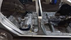 Стойка кузова (центральная). Toyota Corolla Fielder 2002 ZZE122 1ZZ-FE, правая
