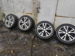 Литые диски R 20 с резиной 265/50 R20 hakka black