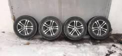 Литые диски SHLK с зимними шинами Bridgestone Blizzak VRX 185/70R14