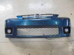Бампер (с камерой) передний Mazda Premacy