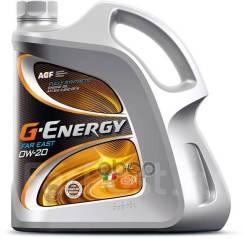 G-Energy Far East. 0W-20, синтетическое, 4,00л.