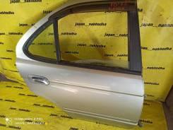 Дверь Nissan Sunny FB15, задняя правая (KYO)