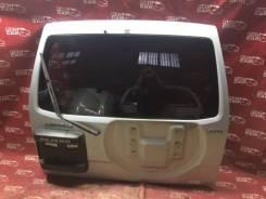 Дверь задняя Mitsubishi Pajero 2000 V75W-0007823 6G74