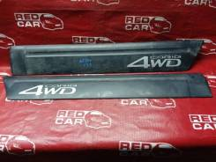 Молдинг на дверь Toyota Sprinter Carib 2000 AE114-7014154 4A, задний