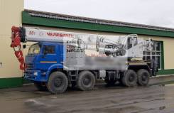 Челябинец КС-65717-34. Автокран Челябинец, 10 850куб. см., 35,40м.