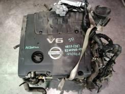 ДВС с КПП, Nissan VQ23-DE - AT RE4F04B FT44 FF J31 коса+комп