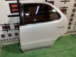 Дверь задняя левая Toyota Cresta 90 #11959 дефект!