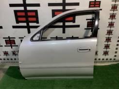 Дверь передняя левая Toyota Cresta 90 #11959 дефект!
