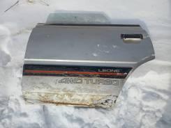 Дверь левая задняя Subaru Leone 1987
