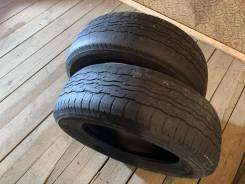 Bridgestone Dueler H/T. всесезонные, 2010 год, б/у, износ 80%