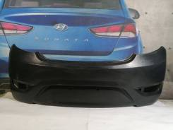 Hyundai Solaris 1 2010-2014 бампер задний хетчбек