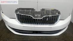 Бампер передний Skoda Fabia 2014-2018 (Универсал)