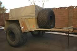 Бронто Марш-1. Продам прицеп заводской, на шинах низкого давления, 750кг.