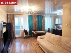4-комнатная, улица Анны Щетининой 22. Снеговая падь, агентство, 92,0кв.м. Интерьер