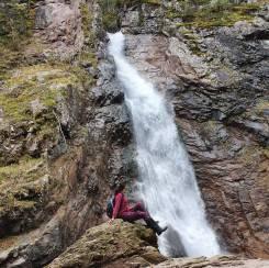 Водопад Черный Шаман.