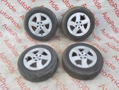 Оригинальные диски Prius R15 с летней резиной 185/65/15