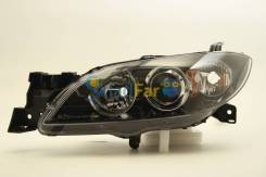 Фара левая Mazda 3/Axela 4D 04-09 под корр