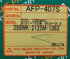 Колодки тормозные дисковые задние FBL AFP-407S комплект AFP407S