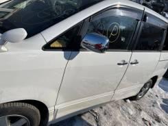 Дверь передняя левая белая (042) Toyota Voxy AZR65 124000km