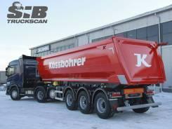 Kassbohrer. Самосвальный полуприцеп DL 32, 39 000кг.