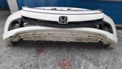 Бампер передний Honda Stream (RN) 03-06 год 2мод белый