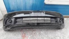 Бампер передний Honda Stream (RN) 03-06 год 2мод черный