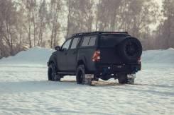 Бампер силовой задний BMS PRO-Line для Тойота Хайлюкс РЕВО 2015-2020