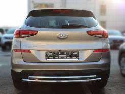 Защита бампера. Hyundai Tucson, TL D4HA, G4FJ, G4KJ, G4NA