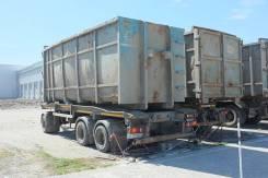 Амкар. Прицеп контейнеровоз Amkar, 24 000кг.